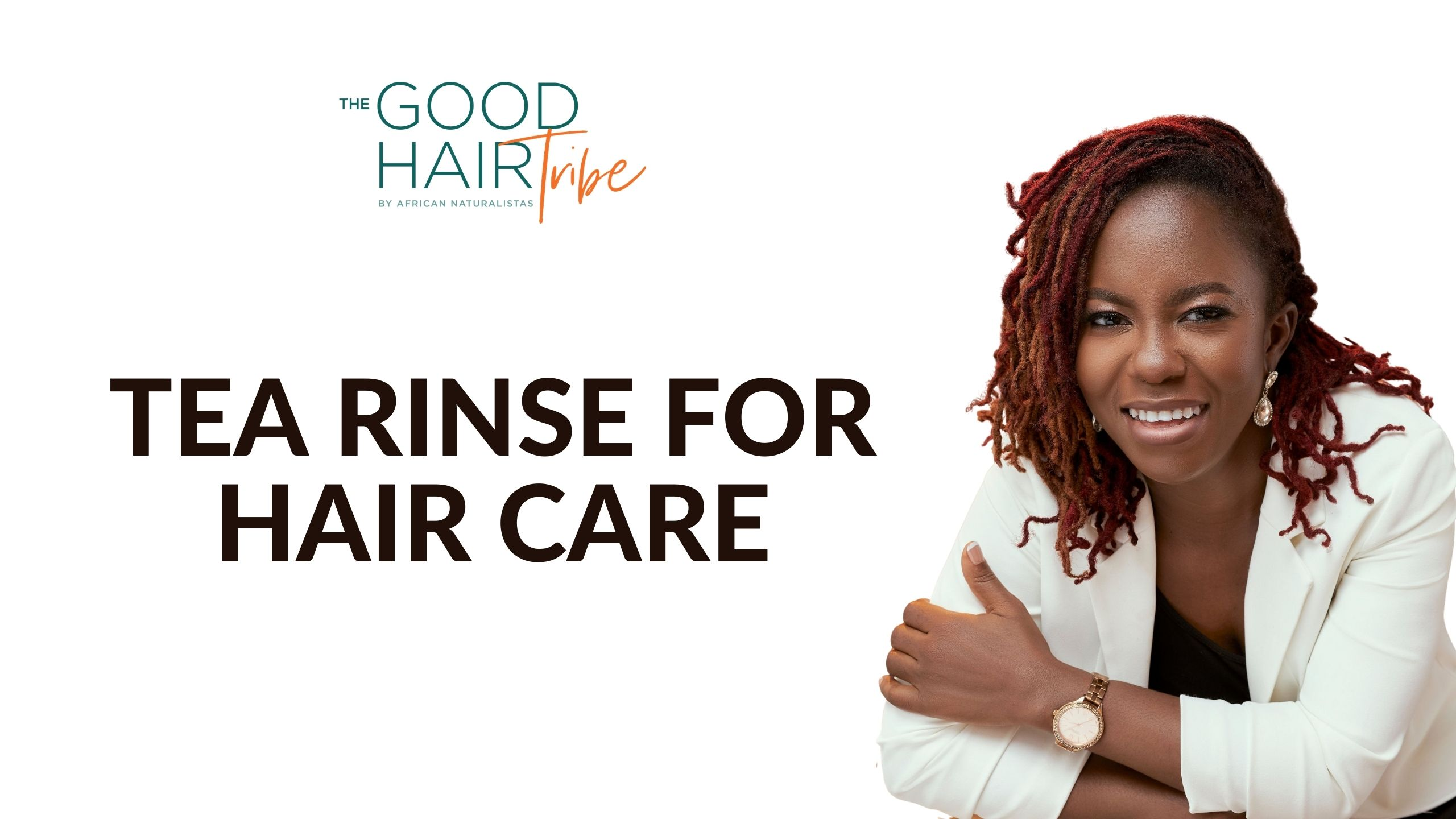 Tea Rinse for Hair Care