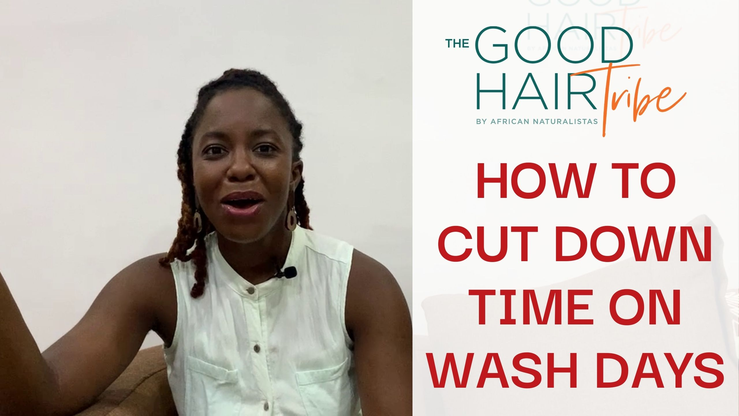 How to cut down time on Wash Days